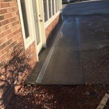 concrete channel drainage system installed by Parks' Waterproofing